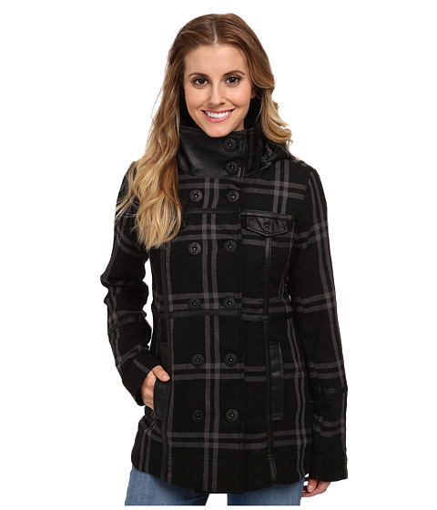 Imbracaminte Femei Hurley Winchester Novelty Jacket Black Plaid
