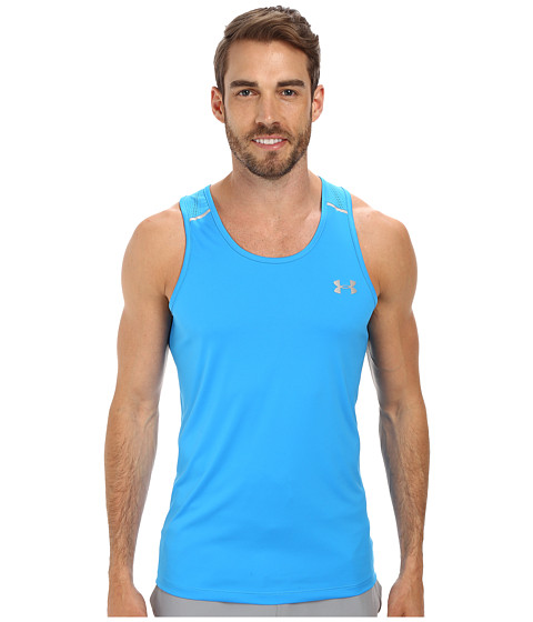 Imbracaminte Barbati Under Armour Armourventtrade Run Singlet Electric BlueElectric BlueReflective