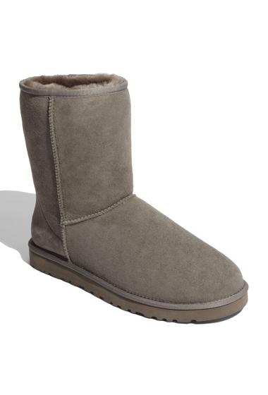 Incaltaminte Barbati UGG Classic Short Genuine Sheepskin Boot GREY