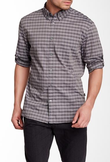Imbracaminte Barbati Star USA By John Varvatos Plaid Long Sleeve Slim Fit Shirt PAVEMENT