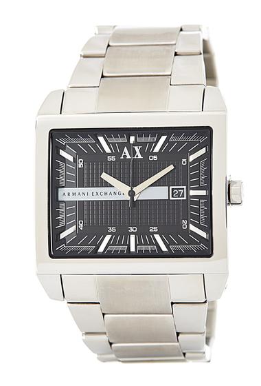 Ceasuri Barbati Armani Exchange Mens Rectangle Bracelet Watch NO COLOR