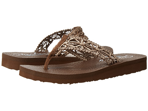 Incaltaminte Femei SKECHERS Meditation-Ocean Breeze Brown