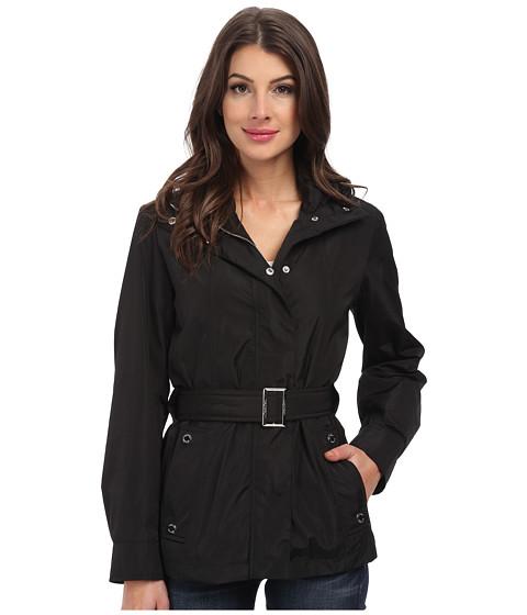 Imbracaminte Femei Calvin Klein Tie Front Coat Black