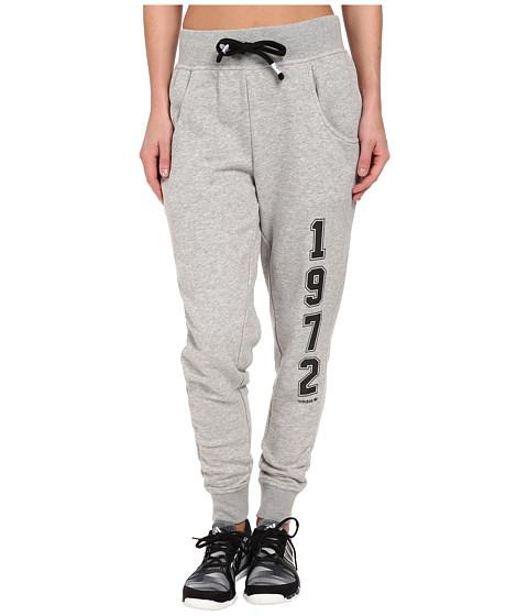 Imbracaminte Femei adidas Super Logo Essential Baggy French Terry Track Pant Medium Grey HeatherBlack