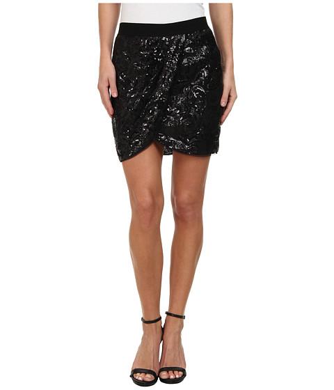 Imbracaminte Femei BCBGMAXAZRIA Joanne Floral Garden Skirt Black
