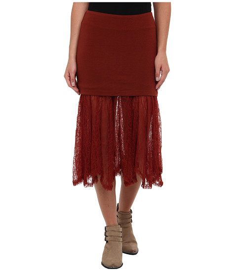 Imbracaminte Femei Free People Two for One Skirt Red Rust