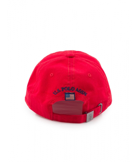 Accesorii Barbati US Polo Assn Multi Logo Baseball Cap Engine Red