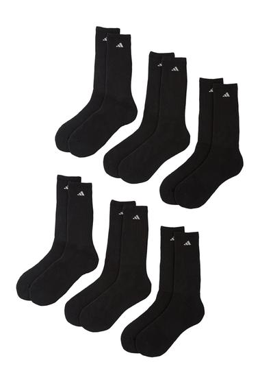 Accesorii Barbati adidas Athletic Crew Socks - Pack of 6 Men BLACK