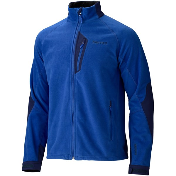 Imbracaminte Barbati Marmot Front Range Fleece Jacket - Windstopper DARK AZUREBLUE NAVY (02)