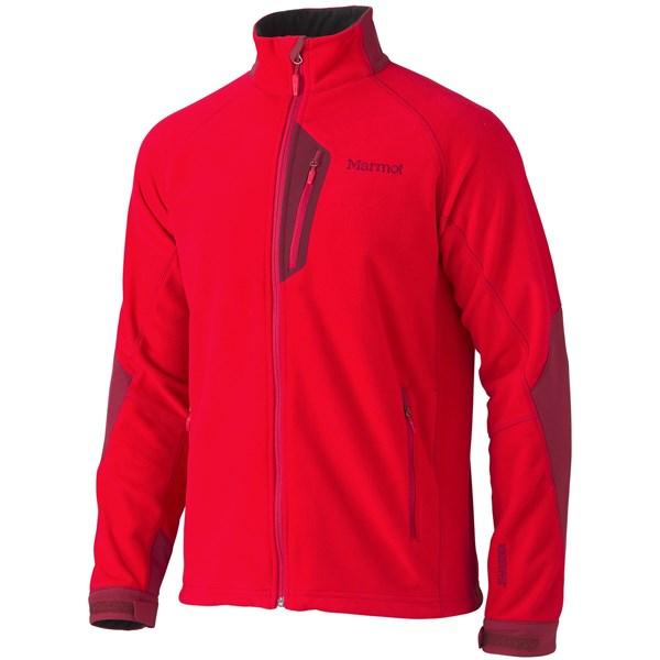 Imbracaminte Barbati Marmot Front Range Fleece Jacket - Windstopper TEAM REDBRICK (03)