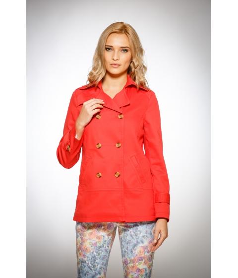 Imbracaminte Femei Be You Trench scurt rosu corai Multicolor