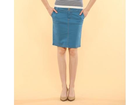 Imbracaminte Femei Be You Fusta jeans albastru deschis Multicolor