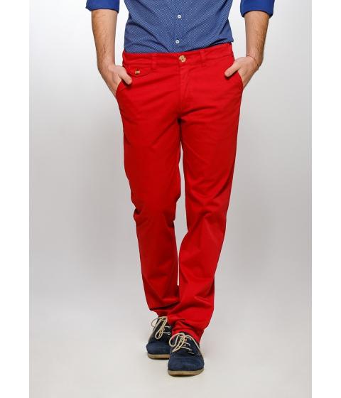 Imbracaminte Barbati Be You Pantaloni rosii stretch confort Multicolor