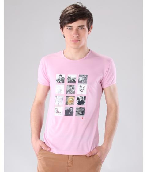 Imbracaminte Barbati Be You Tricou roz Multicolor