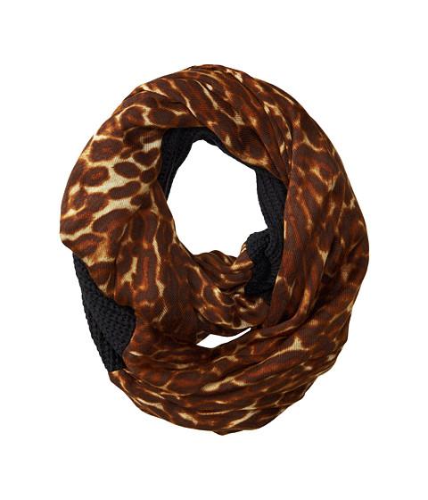 Accesorii Femei LAUREN Ralph Lauren Leopard Infinity Loop Scarf BlackLeopard