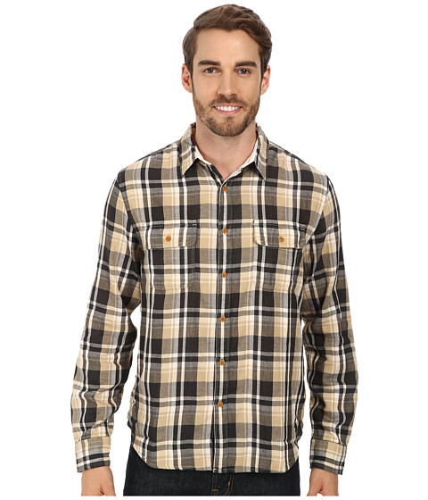 Imbracaminte Barbati Lucky Brand Salt Flats Workwear Shirt BlackNatural