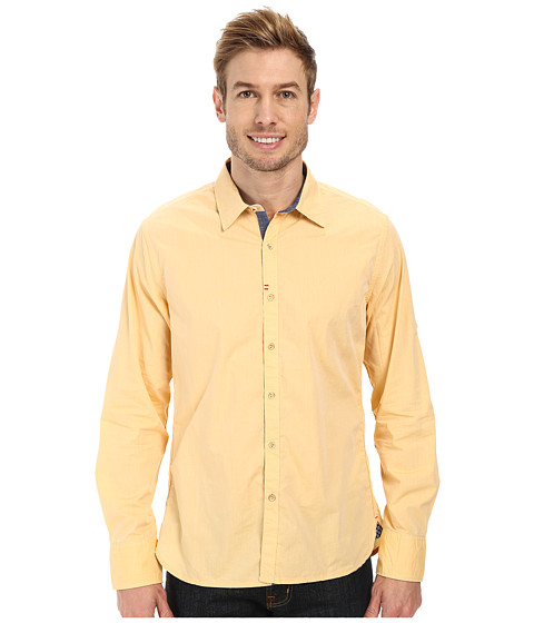 Imbracaminte Barbati Robert Graham Coconut Grove Tailored Fit Long Sleeve Woven Sport Shirt Amber