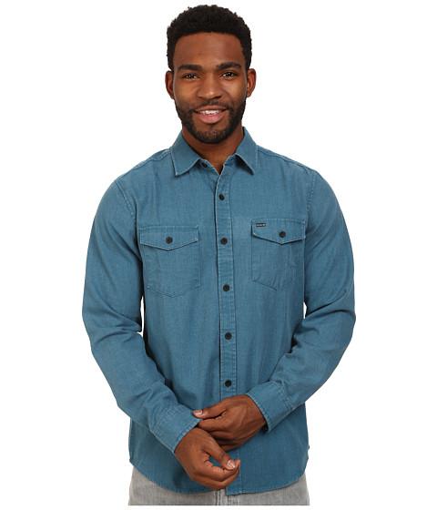 Imbracaminte Barbati Hurley Burn Long Sleeve Woven Shirt Blue Force