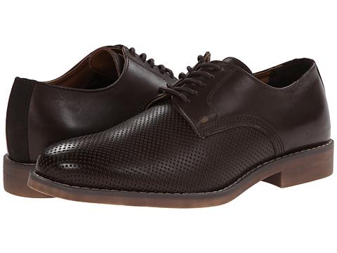 Incaltaminte Barbati Calvin Klein Onyx Dark Brown Perf Leather