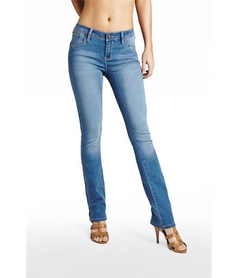 Imbracaminte Femei GUESS Visha Slim Bootcut Jeans medium wash