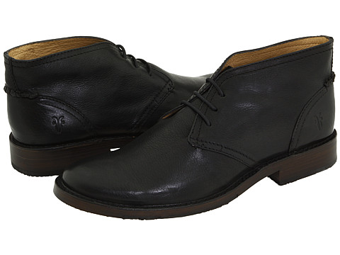 Incaltaminte Barbati Frye Oliver Chukka Black Full Grain Leather