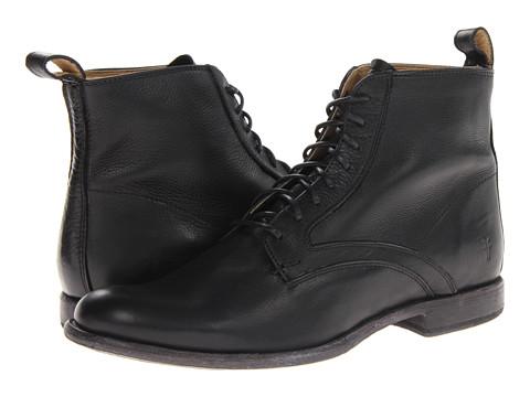 Incaltaminte Barbati Frye Phillip Lace Up Black Soft Vintage Leather
