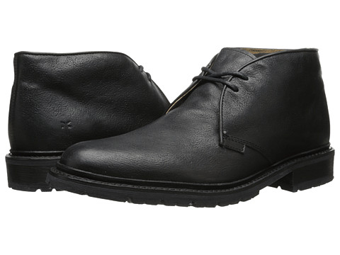 Incaltaminte Barbati Frye James Lug Chukka Black Hammered Full Grain