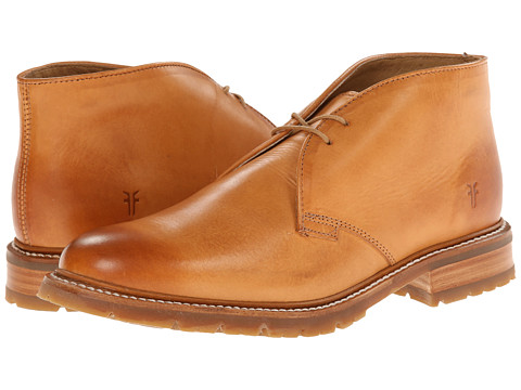 Incaltaminte Barbati Frye James Lug Chukka Tan Smooth Full Grain