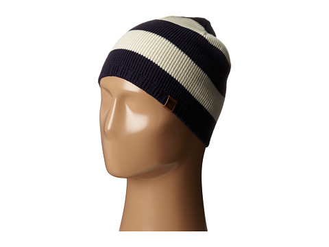Accesorii Barbati Sperry Top-Sider Marled Stripe Beanie w Leather Tab Vanilla Ice