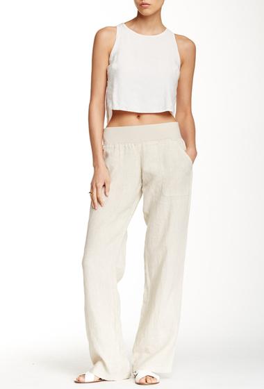 Imbracaminte Femei Allen Allen Linen Pants FLAX