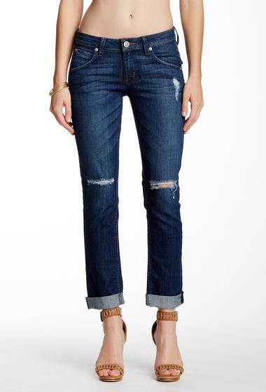 Imbracaminte Femei HUDSON Jeans Bacara Cuffed Straight Leg Jean BOLSA CHIC