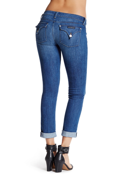 Imbracaminte Femei HUDSON Jeans Bacara Cuffed Straight Leg Jean PALISADES