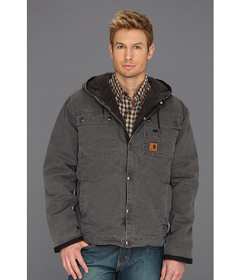 Imbracaminte Barbati Carhartt Sandstone Hooded Multi Pocket Jacket Gravel