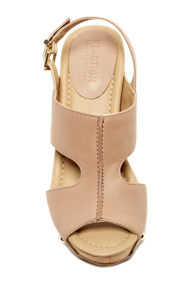Incaltaminte Femei Kenneth Cole Reaction Sole-O Wedge Sandal Bark