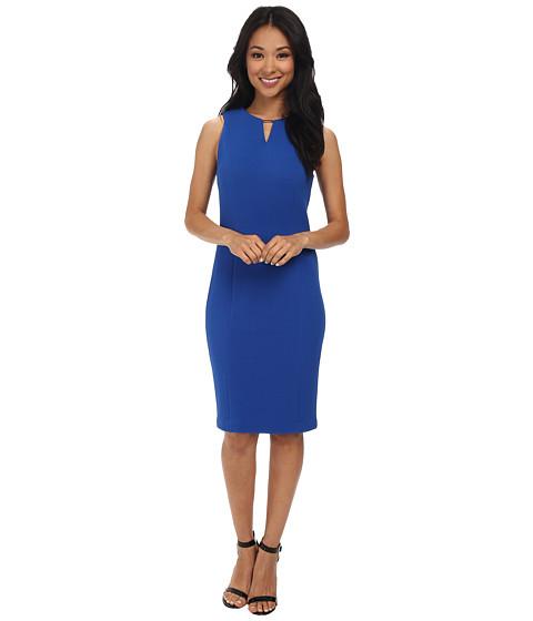 Imbracaminte Femei Calvin Klein Textured Rib Dress Celestial