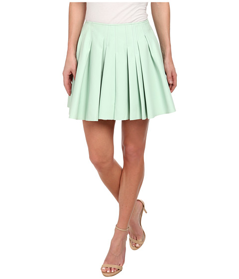 Imbracaminte Femei Sam Edelman Irregular Pleated Skirt Spearmint