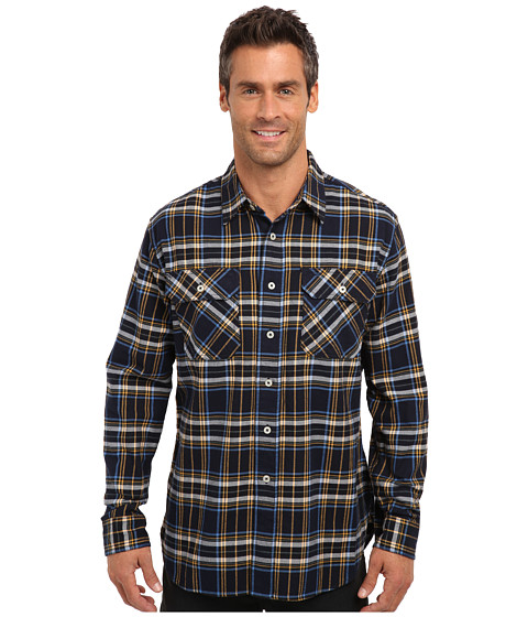 Imbracaminte Barbati Pendleton LS Burnside Flannel Shirt Navy Plaid