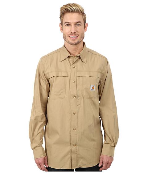 Imbracaminte Barbati Carhartt Force Mandan Solid LS Shirt Dark Khaki