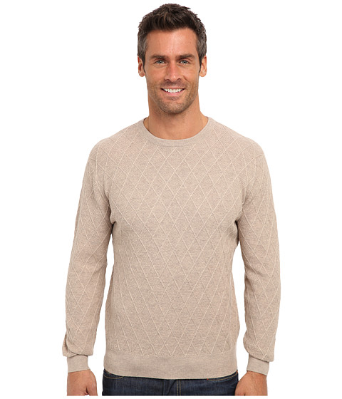 Imbracaminte Barbati Pendleton Lightweight Crew Sweater Tan Mix
