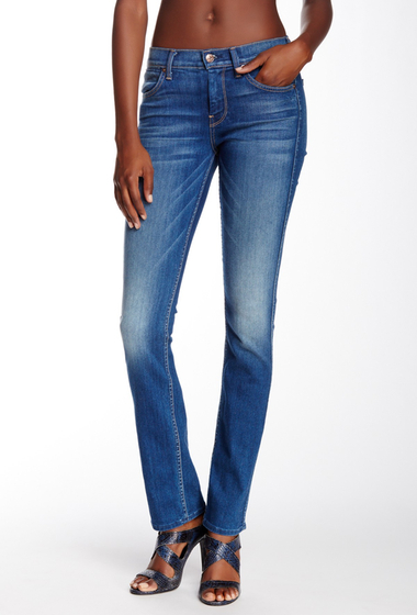 Imbracaminte Femei 7 For All Mankind The Modern Straight Leg Jean SLIM ILLUSION BARCELONA BRIGHT