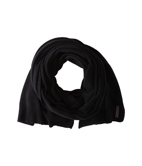 Accesorii Barbati Cole Haan Lightweight Wool Muffler Solid Black