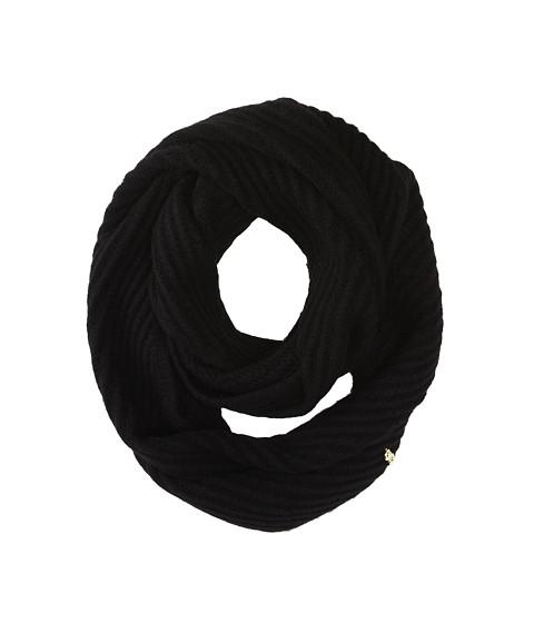 Accesorii Femei Cole Haan Diagonal Rib Infinity Scarf Black