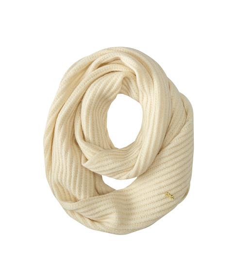 Accesorii Femei Cole Haan Diagonal Rib Infinity Scarf Ivory