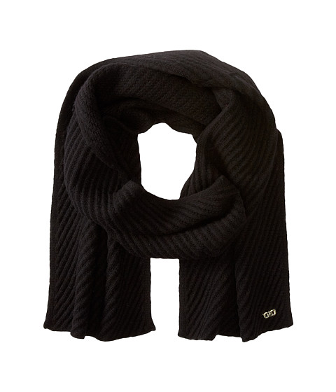 Accesorii Femei Cole Haan Diagonal Rib Muffler Black
