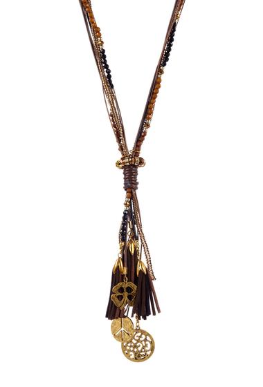 Bijuterii Femei Savvy Cie Multi-Layer Tassel Drop Necklace No Color