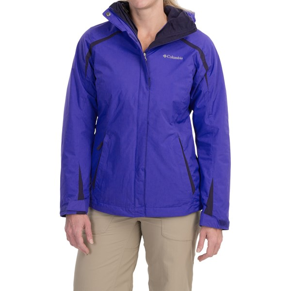 Imbracaminte Femei Columbia Blazing Star Interchange Jacket - 3-in-1 Insulated Omni-Shield LIGHT GRAPEINKLING (05)