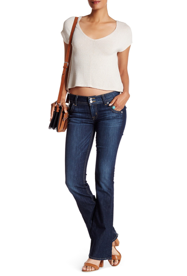 Imbracaminte Femei HUDSON Jeans Signature Bootcut Mid Rise Jean BAIR