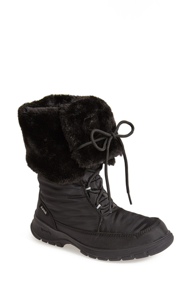 Incaltaminte Femei Kamik Seattle Waterproof Faux Fur Boot BLACK