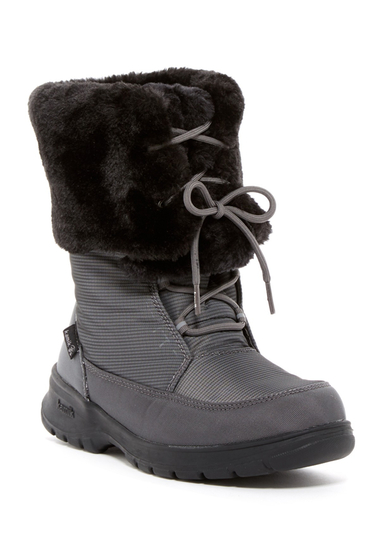Incaltaminte Femei Kamik Seattle Waterproof Faux Fur Boot CHARCOAL