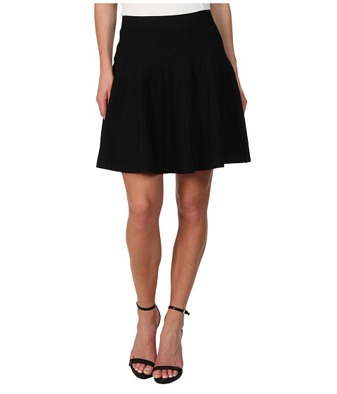Imbracaminte Femei BCBGMAXAZRIA Kelli Ottoman A-Line Skirt Black